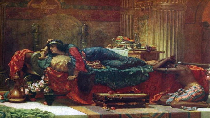 Normand,_Ernest_-_Queen_Vashti_deposed_-_1890